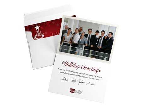 How to brand your holiday business cards