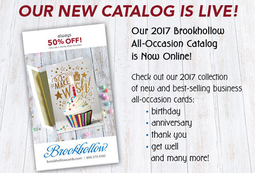 New Greeting Cards in our 2017 Digital Catalog