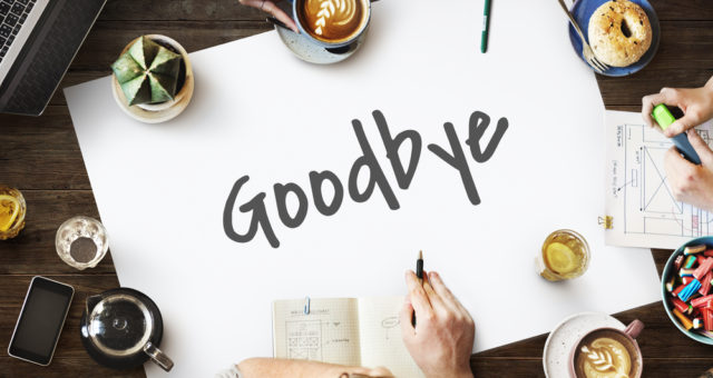how to say thank you and goodbye