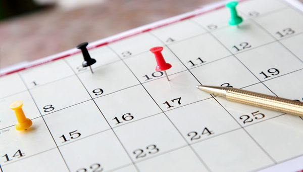 Getting your calendar back on track mid-year