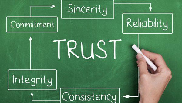 Building customer trust through greeting cards